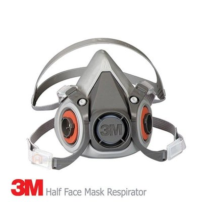 3M 6200 半臉面罩呼吸器 3M 7093 P100過濾器 2097顆粒過濾器 6006綜合氣體濾毒罐 5N11濾棉    奈櫻?雜貨鋪7325