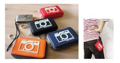 *凱西小舖*日本進口正版DECOLE系列PIXUAL GRAPHICA附掛勾收納/手機/相機包