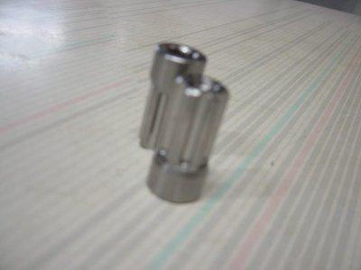 駿馬車業 CNC 汽缸頭 排氣管頭 螺帽 M8 牙深25MM  一顆100元 中和