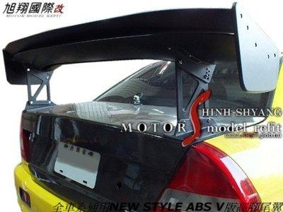NEW STYLE ABS V版高腳尾翼空力套件 (全車系通用VIOS TIERRA K8 K9 LANCER K11)