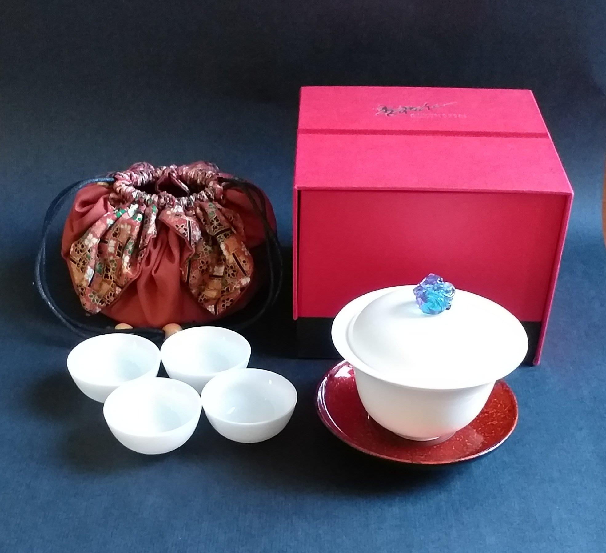 【生活收藏】存仁堂藝瓷-喜事來蓋杯組