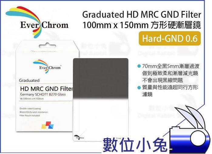 數位小兔【EverChrom Hard GND 0.6 硬式方形漸層鏡】贈磁鐵框 送完為止 ND4 100x150mm