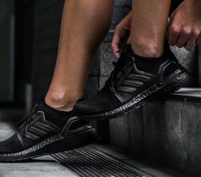 【BOUTIQUE】Adidas Ultra Boost 19 M Triple Black 全黑 男鞋 G27508