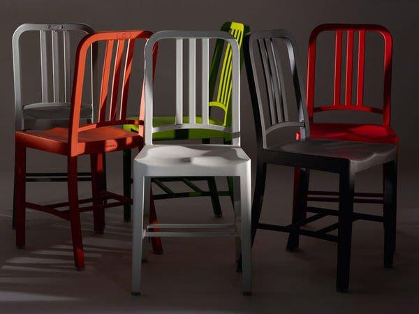 【 一張椅子 】工業風 海軍椅 navy chair 全鋁 復刻版