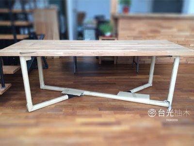 【緬甸柚木-TKWOOD】客製化鐵腳/桌腳/椅腳 - 雙Y造型