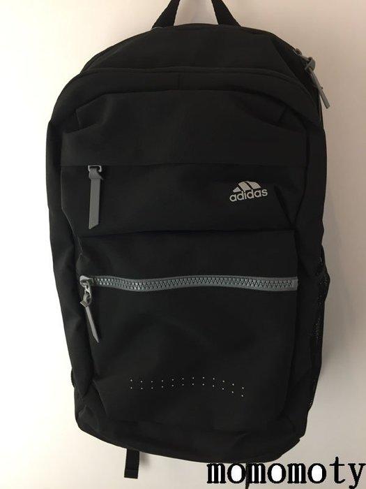 Adidas 背包 後背包 黑銀 黑色 水壺袋 輕量 AZ8643 運動背包 筆電包 旅行包 請先問庫存