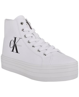 Calvin Klein  Bailee Lace-Up High-Top Sneakers 4/18止