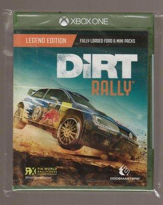 全新XBOX ONE原版片 英文版 Dirt Rally 大地長征 拉力賽