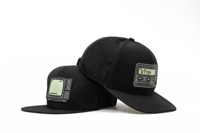 { POISON } PRETTYNICE OLD ELECTRONIC BUCKLE BACK HAT 後扣棒球帽