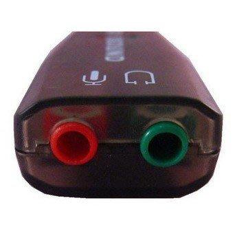 【東京數位】全新 3D音效卡 USB 3D音效卡 (隨插即用) 升級維修最方便舊主機 ~真便宜