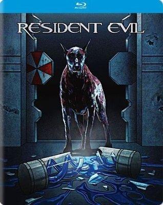 毛毛小舖--藍光BD 惡靈古堡 獨家限量鐵盒版 Resident Evil