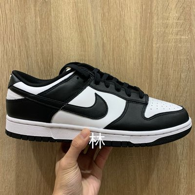 全新 10 / 10.5 現貨 Nike Dunk Low White/Black 黑白 熊貓 AMBUSH DD1391-100