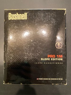 Bushnell PRO 1M Slope Edition 測距儀 9成新