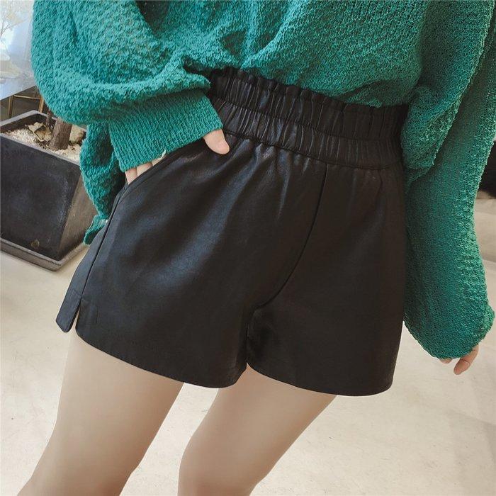 Modem Girl♥100%實拍 優質板型 經典皮革短褲 S/M/L/XL