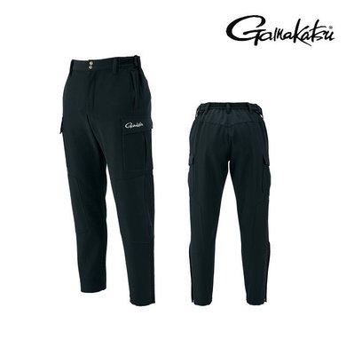 源豐網路釣具 - GAMAKATSU 防風保暖釣魚褲 GM-3254(M、L)