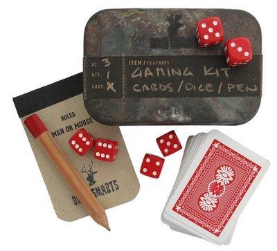 BUSH SMARTS 紐約設計 美國製造 登山露營 童趣遊戲 手工錫盒 譜克牌骰子 灌木鉛筆 Outdoor 禮物文創