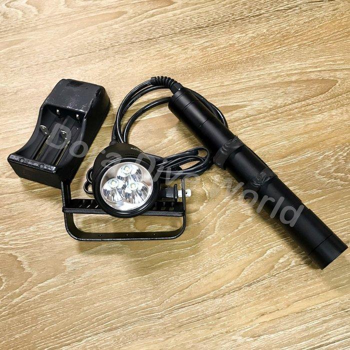 ?24H快速出貨?現貨  ?DIV10 磁控分離式調光聚光手電筒  潛水手電筒 充電式手電筒 家用防災 登山露營