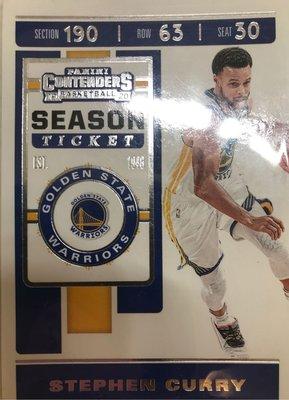 NBA球員卡 金州勇士 Stephen Curry 史蒂芬柯瑞 浪花兄弟之一 史上第一位全票MVP