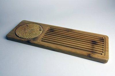 【本草玉茗堂】竹藝泡茶盤 乾泡茶盤