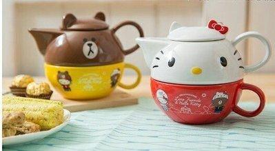 [橫濱和風屋] 7-11 Hello Kitty  LINE熊大 限量 下午茶杯壺組 生日 交換 畢業禮物 台北市