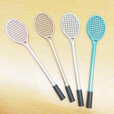 【贈品禮品】B3922 羽毛球拍筆/網球拍筆/中性筆廣告筆原子筆/羽球拍文具/辦公用品/贈品禮品