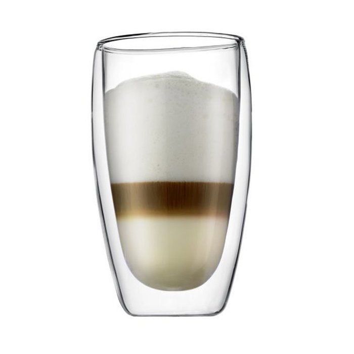 450ml雙層隔熱玻璃杯☆ VITO zakka ☆ 隔熱雙層玻璃杯