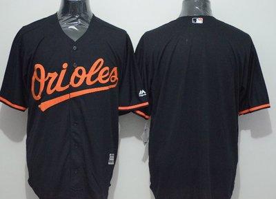 運動專用~MLB球衣棒球服金鶯隊休閒服個性Orioles空白刺繡球衣