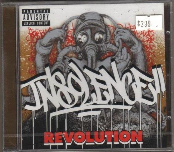 華聲唱片- INSOLENCE / REVOLUTION  / 全新未拆CD -- 010708