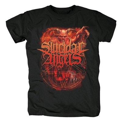 希臘 敲擊團體Suicidal Angels死亡金屬 死硬派激流金屬 紀念t恤