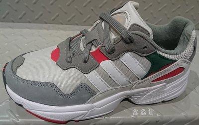 2019 四月 ADIDAS ORIGINALS YUNG-96 復古 運動鞋 慢跑鞋 白灰紅 老爹鞋 DB2608