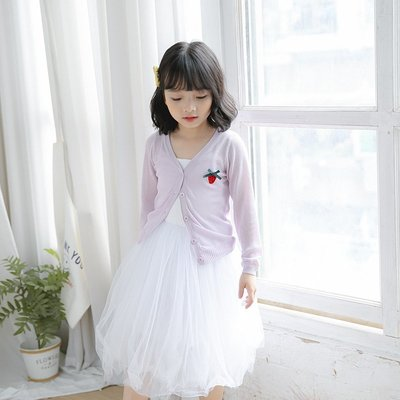 【Mr. Soar】 A293 夏季新款 歐美style童裝女童超薄防曬外套 現貨