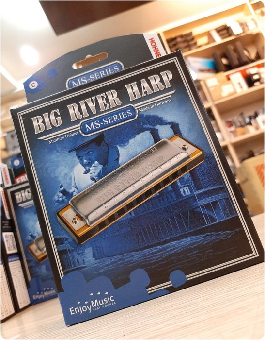 ♪♪學友樂器音響♪♪ HOHNER Big River Harp 十孔口琴 德國製 藍調 民謠 鄉村 多調性