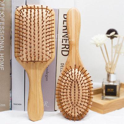 【媽媽倉庫】木質透氣護理頭髮梳子 按摩梳 梳子 氣墊梳