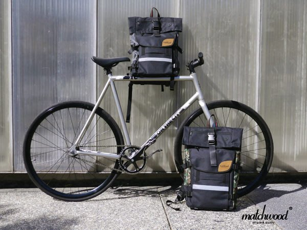 { POISON } MATCHWOOD RIDER 後背包 17吋筆電夾層 Herschel / Chrome