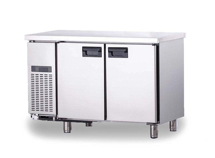 全新 全304後箱體/自動回歸門/ 工作台冰箱/冰箱/臥式冰箱/手工製
