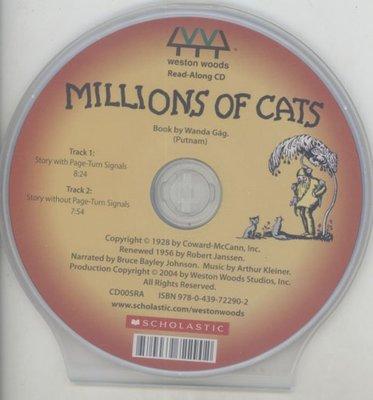 *小貝比的家*MILLIONS OF CATS /單CD/3~6歲/想像力/李貞慧-PART2.xis