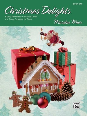 【599免運費】Christmas Delights, Book 1 Alfred 00-20737