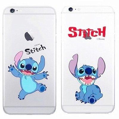 **韓國代購DISNEY系列Stitch史迪仔iPhone 7 / 8 Plus透明手機套  **