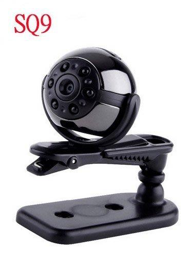 含發票 SQ9 高輕微型迷你攝影機 攝像機 監視器 夜視 金屬 1080P 針孔攝影機 行