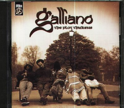 K - Galliano - The Plot Thickens - CD - NEW