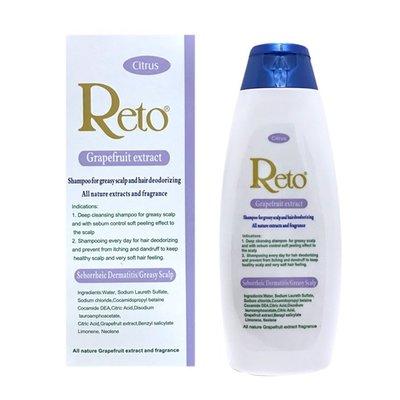 Reto純香柚萃取(grapefruit extract)油性頭皮洗髮精 500ml.