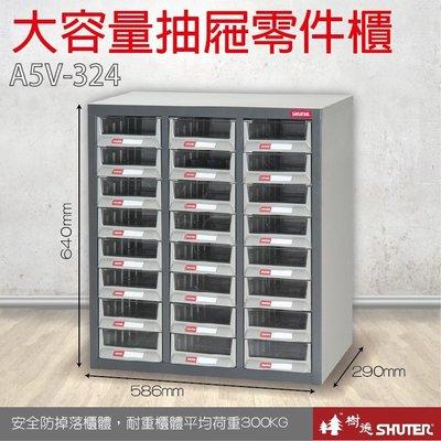 樹德  24格抽屜 裝潢 水電 維修 汽車 耗材 電子 3C 包膜 精密 車床 電器 大容量抽屜零件櫃