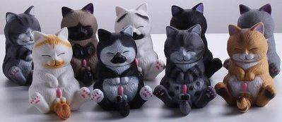 雪寶寶美少女 貓鈴鐺 空想造物 閉眼 萌貓 坐姿 一套共9款 盒裝