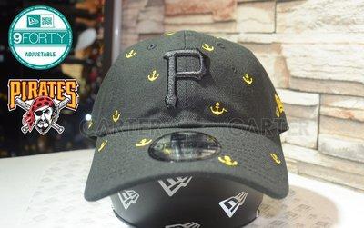 New Era MLB Pittsburgh Pirates sea anchor 9forty 匹茲堡海盜隊錨設計老帽
