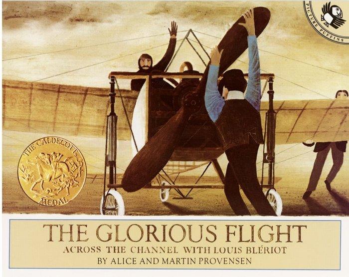 *小貝比的家*THE GLORIOUS FLIGHT/平裝書/3~6歲/美國凱迪克金牌獎