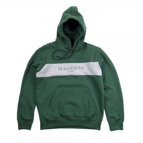 [JIMI 2] Magenta - Paris Hoodie 拼接帽Tee Sweatshirt 法國超人氣滑版品牌