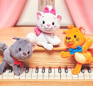 現貨 日本東京迪士尼 nuiMOs 瑪麗貓 貓咪 換裝骨架公仔擺pose