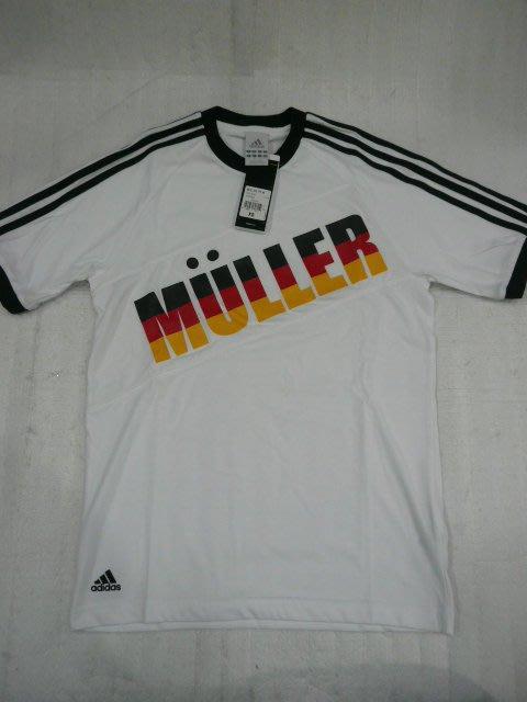 【n0900台灣健立最便宜】ADIDAS 2017世界盃首場3個進球德國托馬斯·穆勒運動T恤 -MULLER-X1238