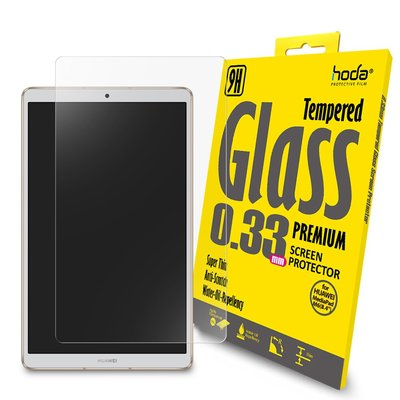 hoda 高透亮 2.5D 0.33mm 滿版 9H 鋼化玻璃保護貼,HUAWEI MediaPad M6 (8.4吋)
