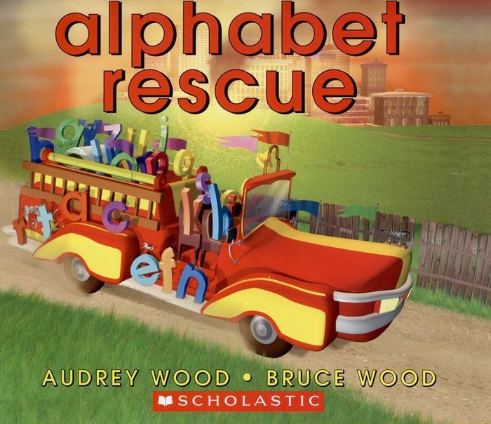 *小貝比的家*ALPHABET RESCUE /平裝/3~6歲/基礎認知
